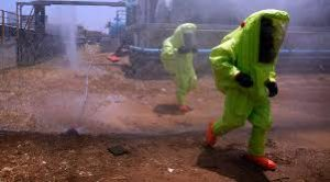 chemical spill clean up