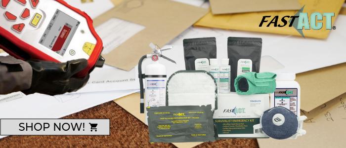 Decontaminating Suspicious Package Found Containing Chemicals