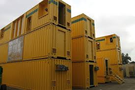 Decontamination of shipping containers