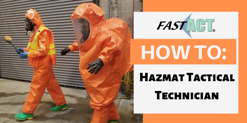 HOW TO HazMat Tactical Technician