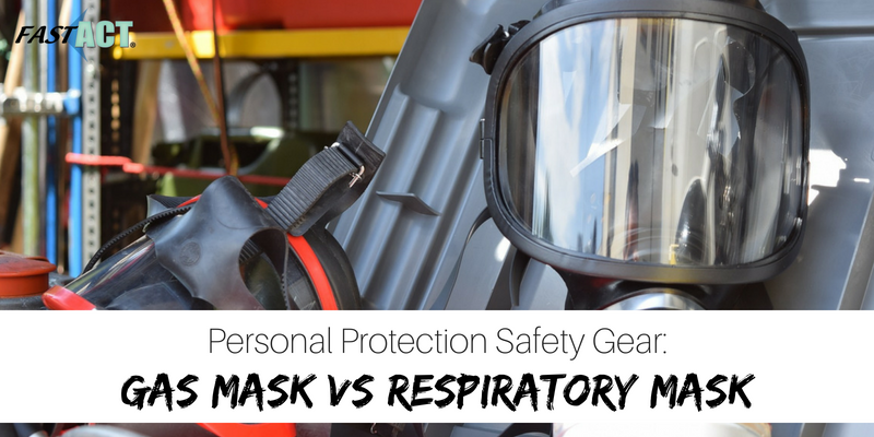 Personal Protection Safety Gear: Gas Mask vs Respirator Mask
