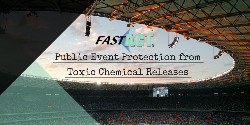 Public Event Protection from Toxic Chemical Releases