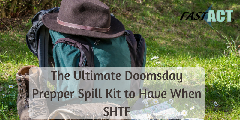 The Ultimate Doomsday Prepper Spill Kit to Have When SHTF