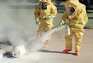 chemical warfare decontamination