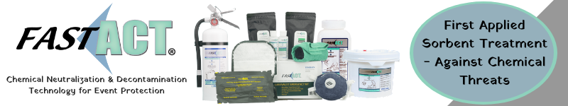 Chemical Neutralization & Decontamination Technology for Event Protection