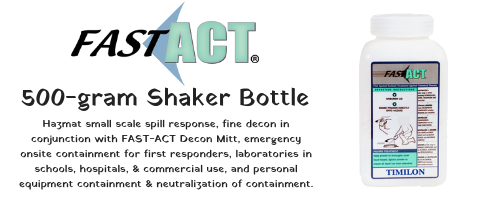 FAST-ACT 500-gram Shaker Bottle