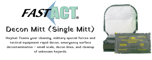 FAST-ACT Decon Mitt