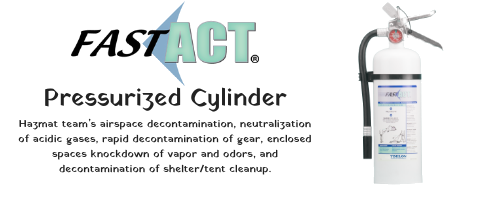 FAST-ACT Pressurized Cylinder