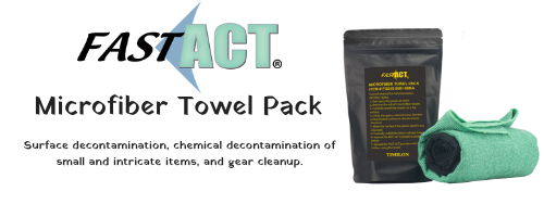 FAST-ACT Microfiber Towel Pack